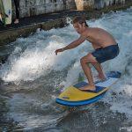 river surf